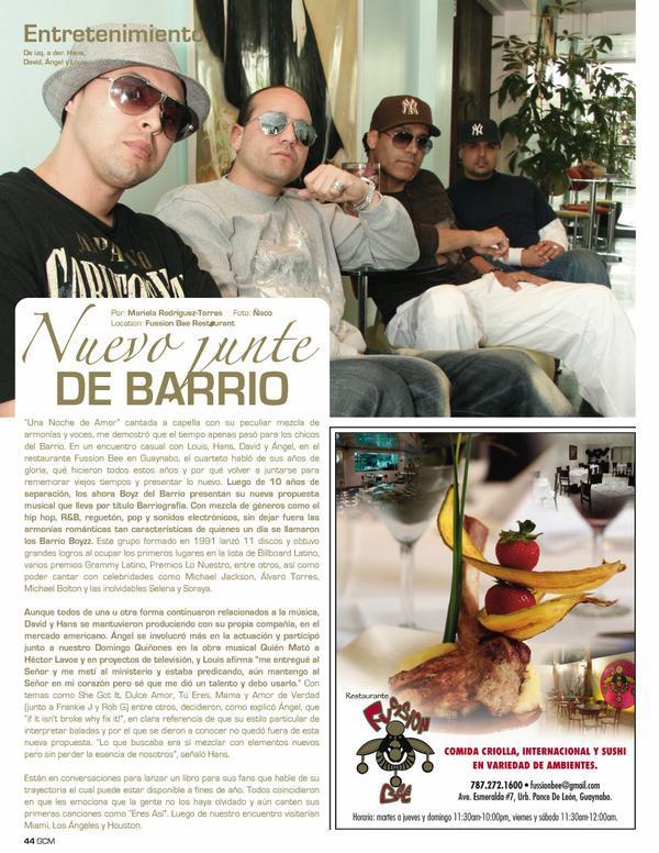 Barrio Boyzz - Una Vez Mas