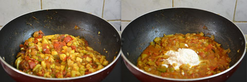 Ridge Gourd Gravy for Chapathi