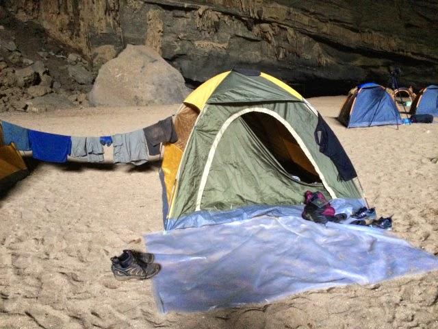 trekking Swallow cave 6