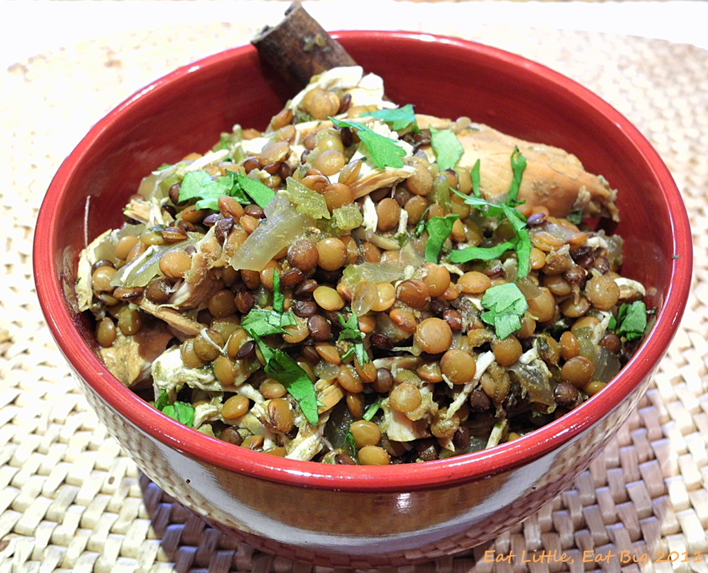 Slow Cooker Indian-Spiced Lentils Recipe — Dishmaps