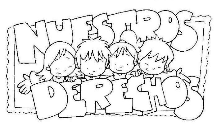 Dibujo de Los Derechos de los Niños