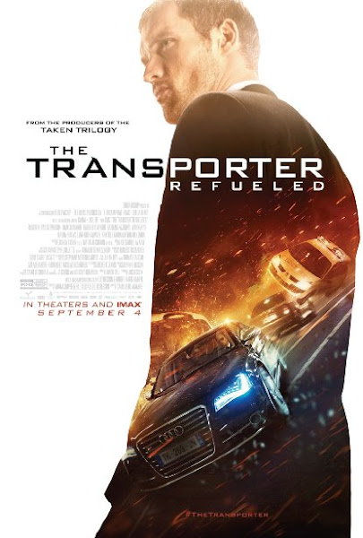 Poster Of The Transporter Refueled 2015 720p BRRip Dual Audio