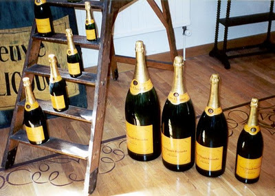 Veuve Clicquot Bottle Sizes