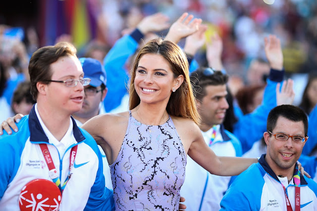 TV Host, Actress @ Maria Menounos - Special Olympics World Games 2015 Opening Night Ceremony in LA