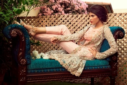 Zara Shahjahan Bridal Collection 2014-15