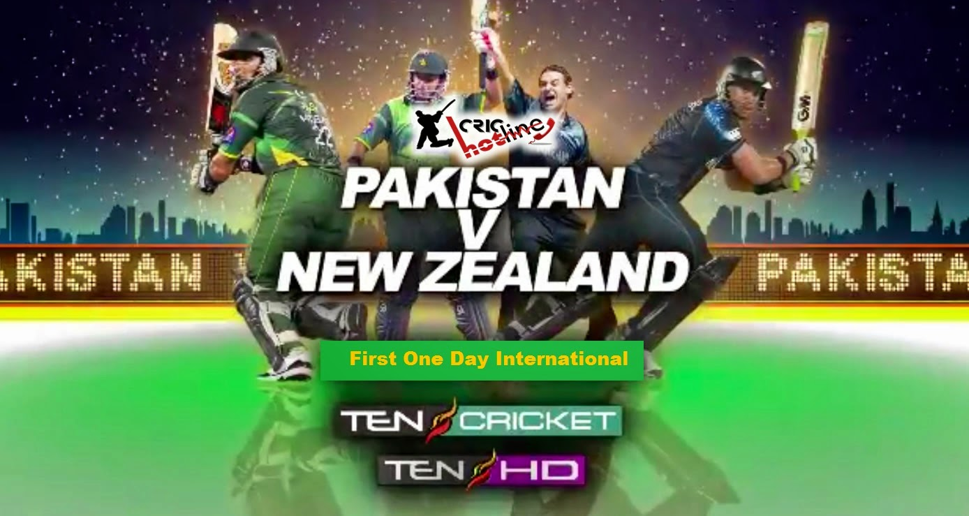 Pakistan Vs New Zeland