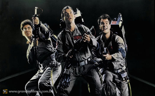 Bill Murray e Dan Aykroyd em Os Caa-Fantasmas