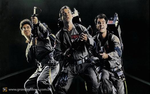 Bill Murray e Dan Aykroyd em Os Caça-Fantasmas