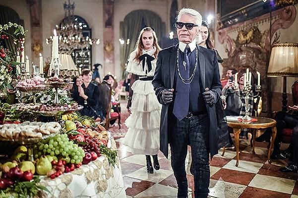 Chanel show in Salzburg