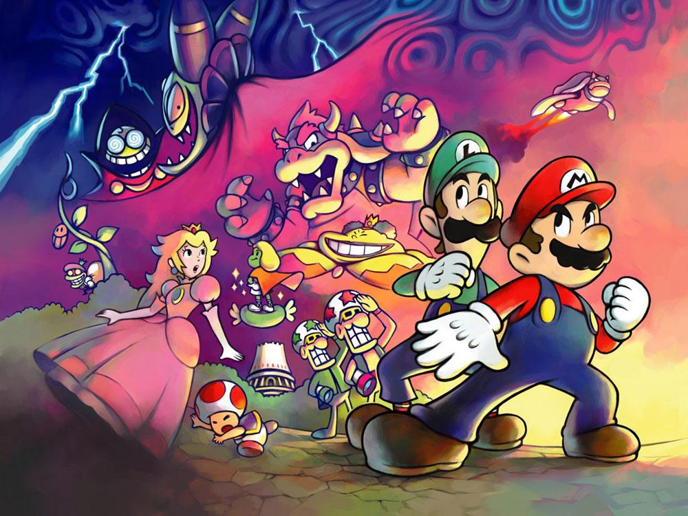 Mario & Luigi Nintendo Wii U Virtual Console