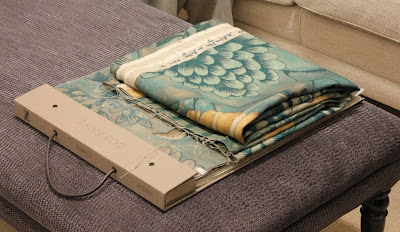 Arden fabric book and Verdure cutting