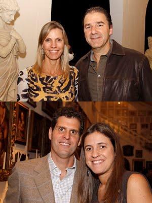 Gisele e Paulo Rossi / Paulo Zullo e Erika Jereissati Zullo