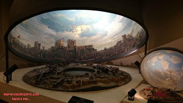 1453 İstanbul panaroma