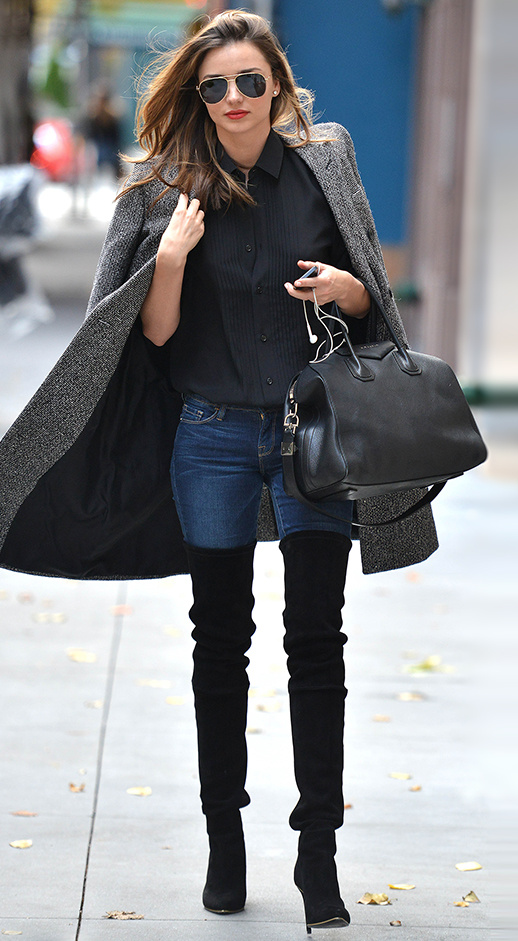 Miranda Kerr / Over the Knee Boots