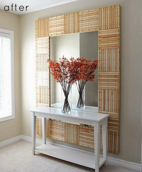 Construindo minha casa clean d vida da leitora margarida - Como colocar un espejo encima de un aparador ...