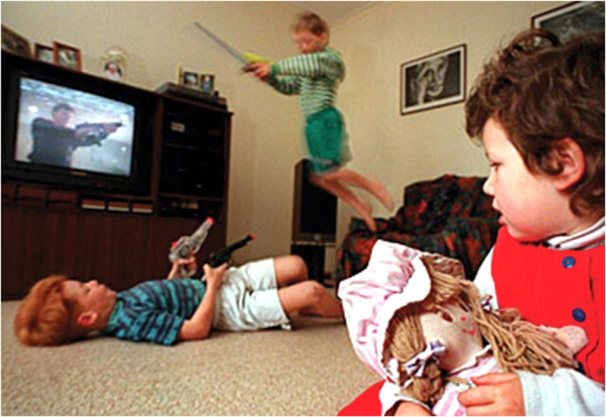 an argument against television causing violence among children Ii argument 1 critics have sought to dispel the argument that violence in the media results into more violent children several points have been put forth to advance their argument.