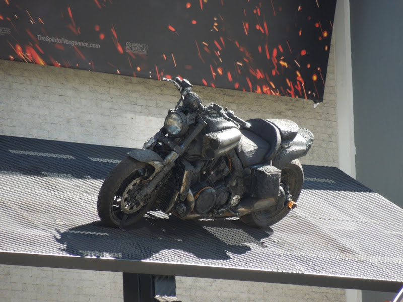 Ghost Rider 2 motorcycle display