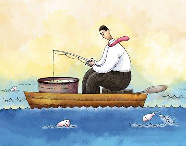 Memancing didalam perahu?