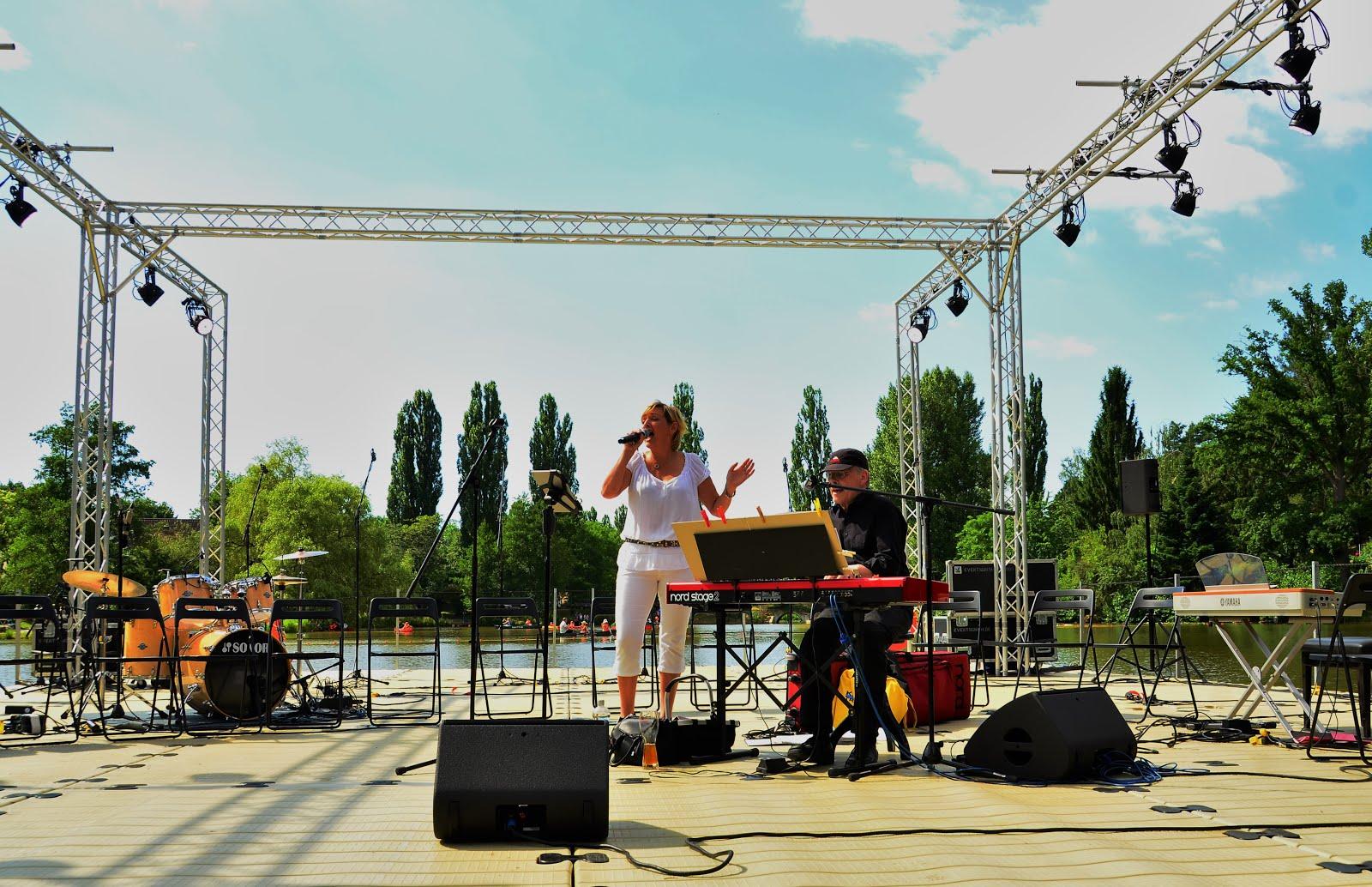 Bühne auf dem Klostersee, Sindelfingen