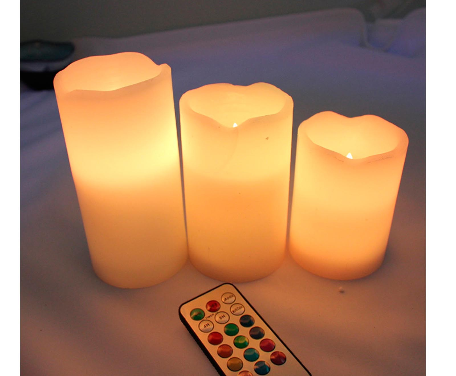 Today Let Me Show You A 3x Colour Changing Led Vanilla Scented Flickering Candle Flamewax Candleled Electronic Circuit Built In Color Light 2only Romance No Dangerous Flames Fumes Wax Mess 34 Or 8 Hour Timer Settings Turn Off Automatically After
