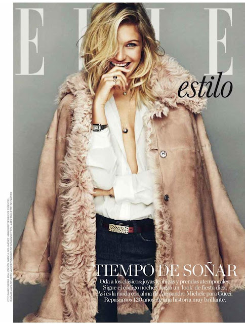 Fashion Model, @ Caroline Corinth - Elle, Spain, December 2015