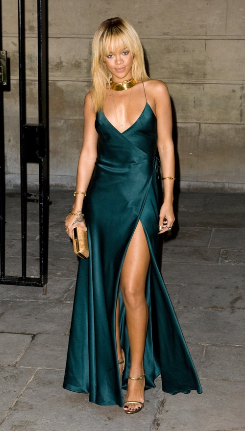 Rihanna Pretty In London Fashion Week Autumn/winter 2012 2