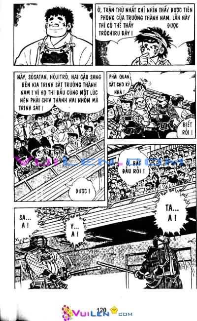 Siêu quậy Teppi chap 29 - Trang 121