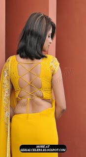 Nandeesha Hemamalini bare back