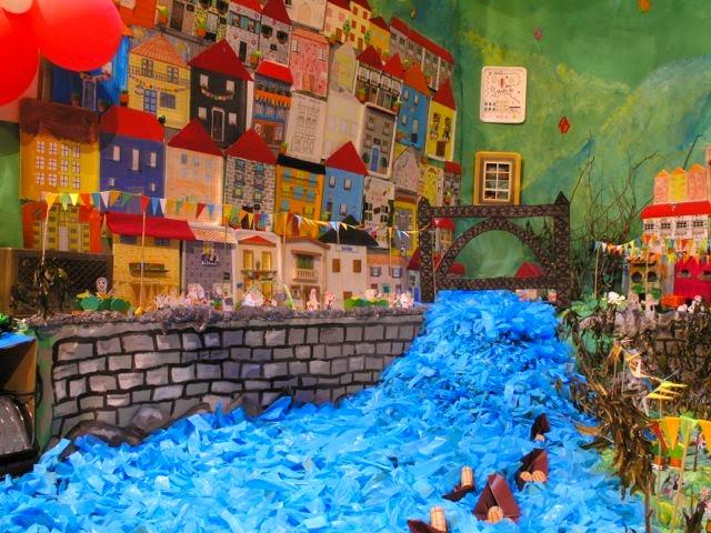 """Cascata do Centro Infantil """"A Minha Janela"""" do CCD da Segurança Social do Porto"""