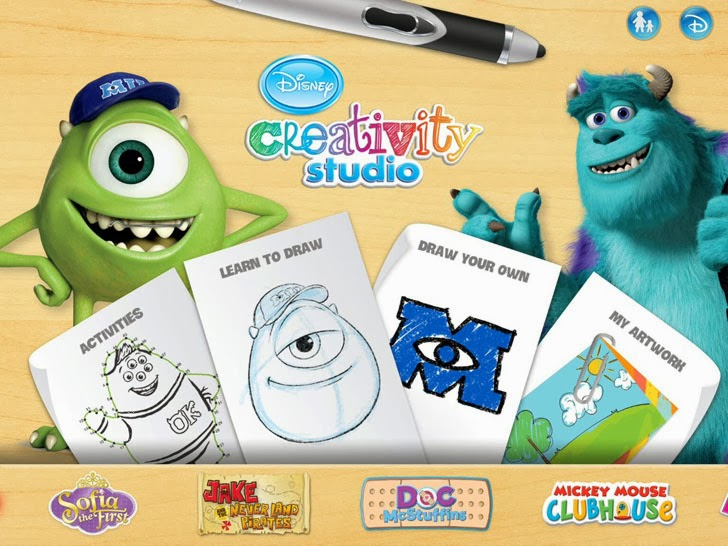 Disney Creativity Studio App iTunes App By Disney - FreeApps.ws