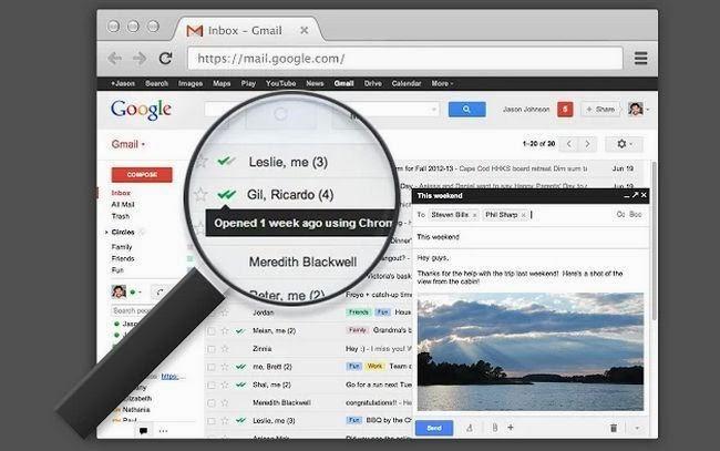 معرفة ما اذا كان قد تم قراءة رسائل البريد الإلكتروني Gmail، وأين، وفي أي وقت وعلى أي جهاز