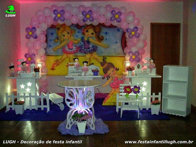 Tema infantil Bailarinas para decoração de festa de aniversário de meninas - Barra da Tijuca RJ