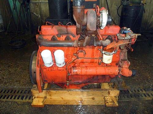 used International 1066 diesel engine