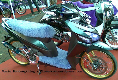 mio soul gt vs vario 125, velg power vario 125, vario cbs modifikasi