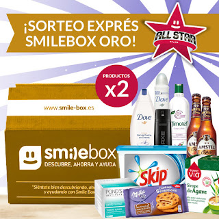 Smilebox All Star Sorteo
