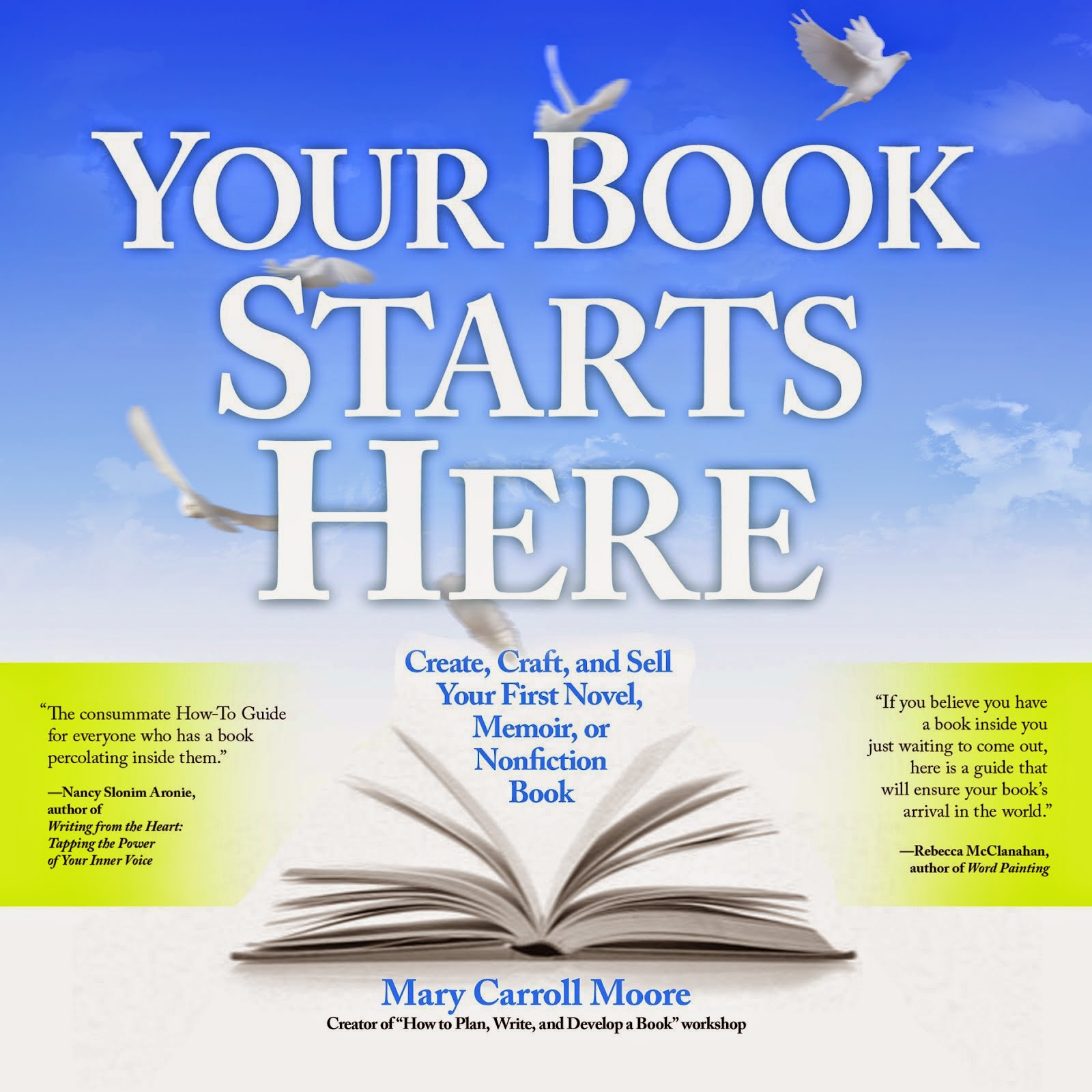 Your Book Starts Here now on audio!  Click image to learn more