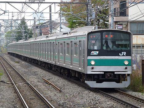 埼京線 各駅停車 赤羽行き1 205系