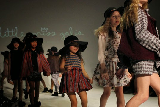 Chichi Mary | petitePARADE Fashion Show Fall 2015: Little Miss Galia ending