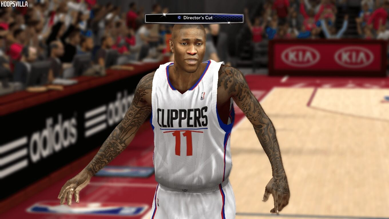 NBA 2k14 Cyberface Mod Jamal Crawford HoopsVilla