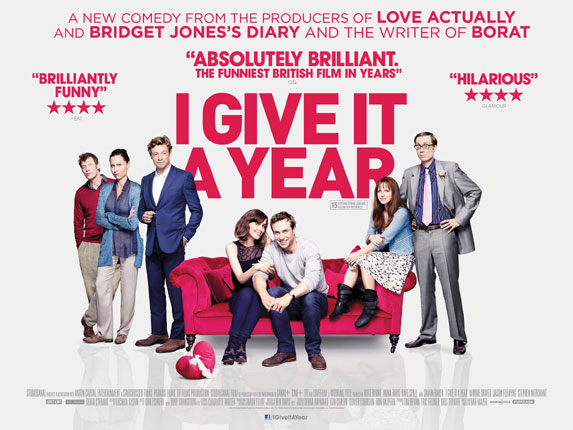 I Give It A Year 2013 Directed By Dan Mazer LONDON