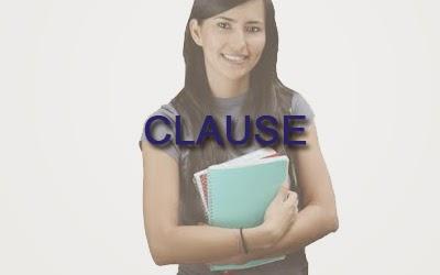 clause,klausa bahasa inggris