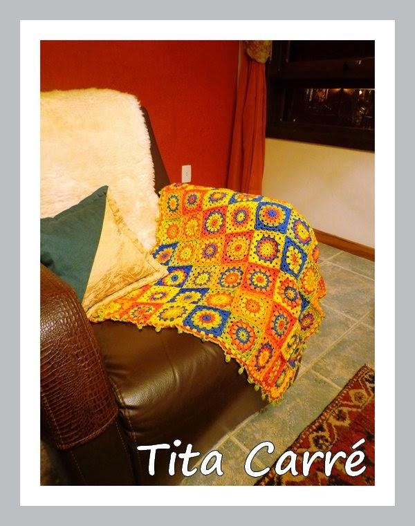 Minha colcha de Squares coloridos em Gramado