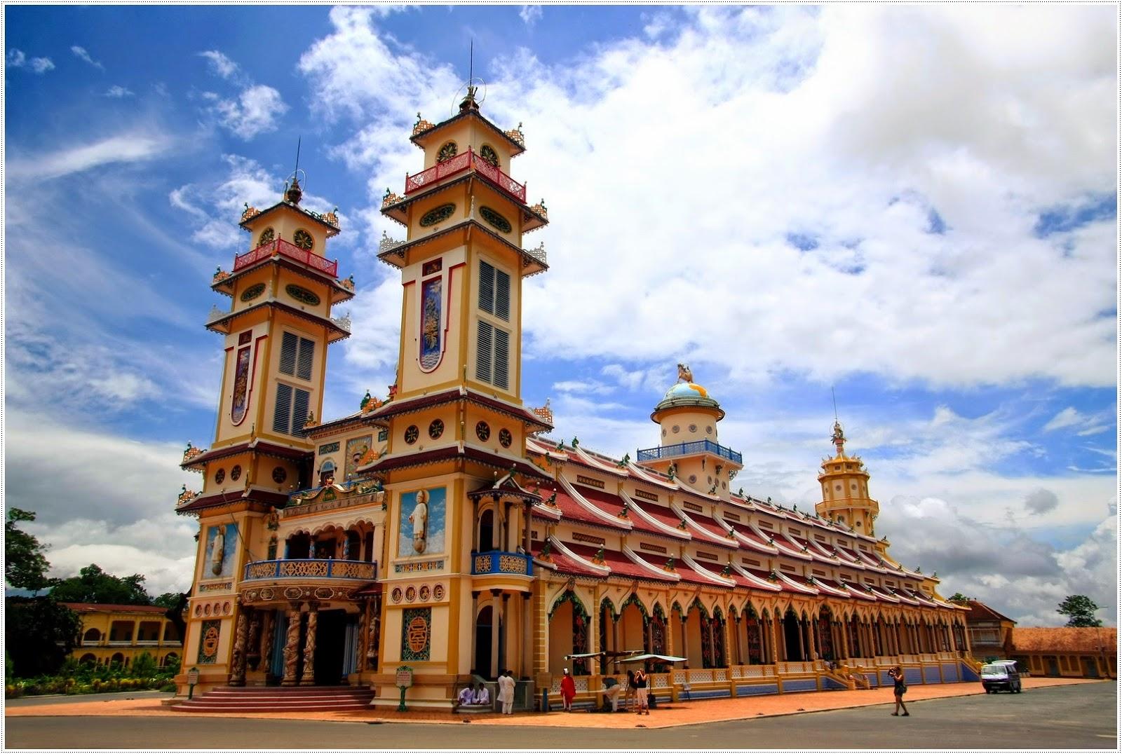 Cao Dai Temple Tay Ninh