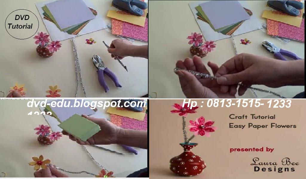 Paper flower-Panduan membuat aneka bunga dari kertas