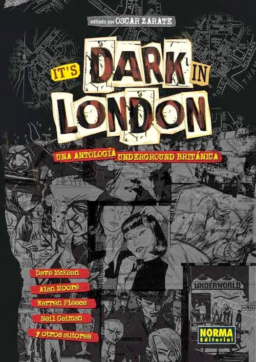 its dark in london comic