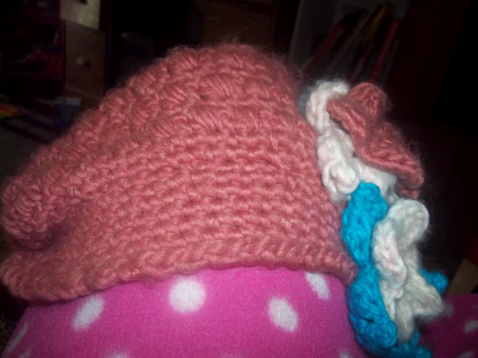 Mostly Crochet: Just a quick update. Also a quick tutorial of those ...