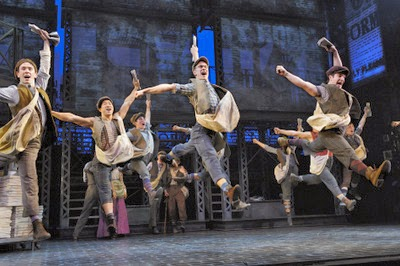 Cast members from Disney's Newsies