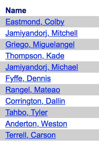 Lehi State Wrestlers 2015-16
