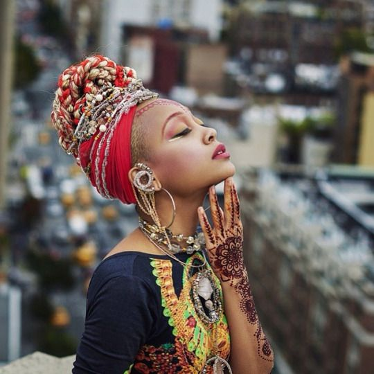 uniquely & brilliantly adorned: adorn your head with beautiful