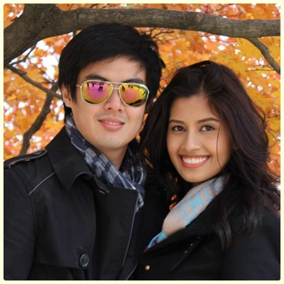 Shamcey Supsup and Lloyd Lee engaged